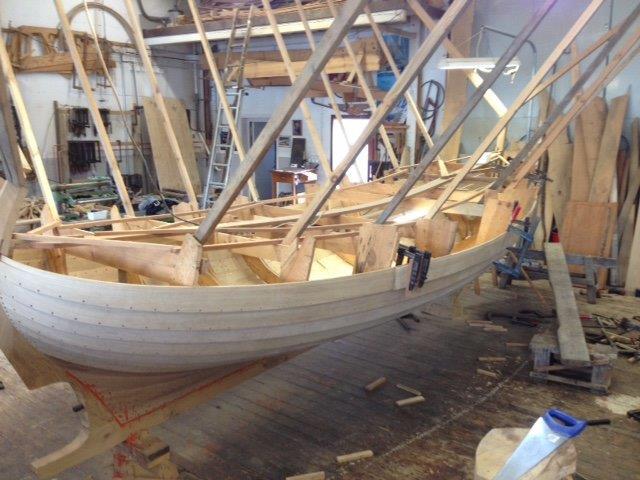 pulpet till båt ~ en båt blir till